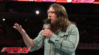 Daniel Bryan has big plans for members of Team Authority: Raw, November 24, 2014