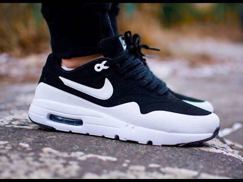 Nike Air Max 90 Ultra Moire Black And White