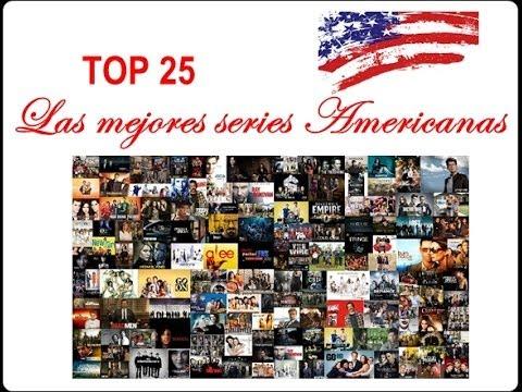 TOP 25   LAS MEJORES SERIES AMERICANAS