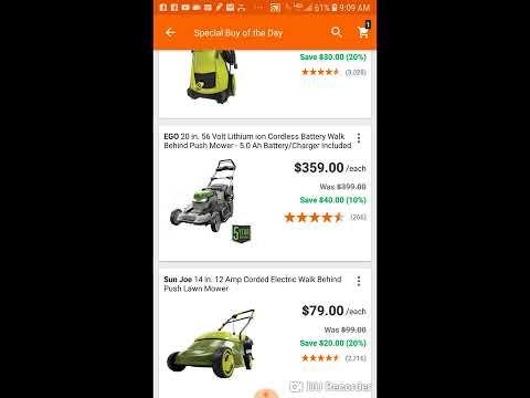 Ego Outdoor Power Equipment Deals!!
