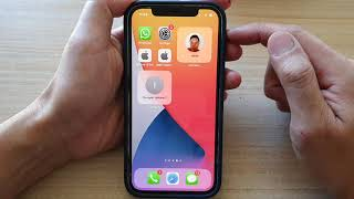 iPhone 12: How to Add a Contacts Widget To the Home Screen - iOS 15