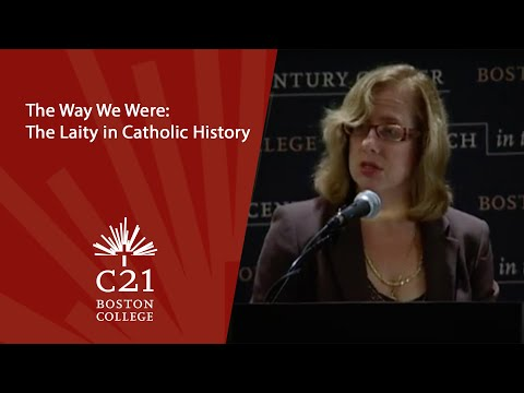The Way We Were: The Laity in Catholic History | November 4, 2010