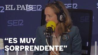 Nadia Calviño en Hora 25