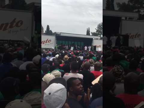 South Africa Chief Rabbi Warren Goldstein  addresses protesters in Pretoria, 'Let my people go'