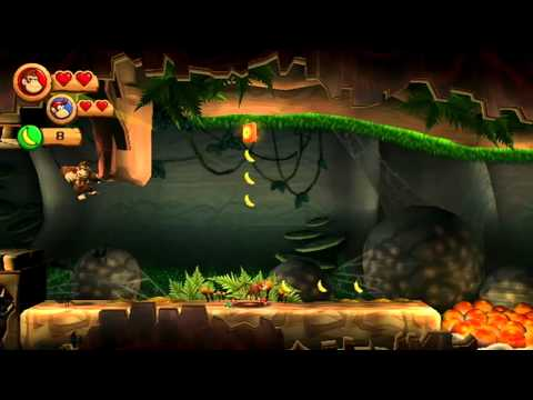 Donkey Kong Country Returns (Wii) Trailer