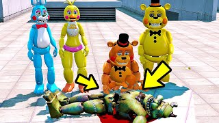 ANIMATRONICS Quem MATOU o DREADBEAR? | GTA 5 Five Nights at Freddy's