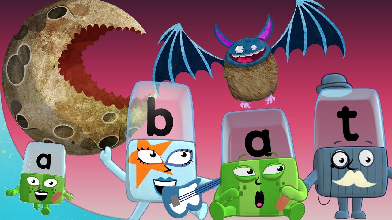 Alphablocks - #Halloween Stories 🎃   Learn to Read   Learning Blocks