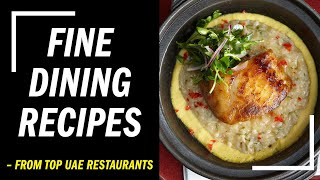 9 amazing fine dining recipes to cook at home