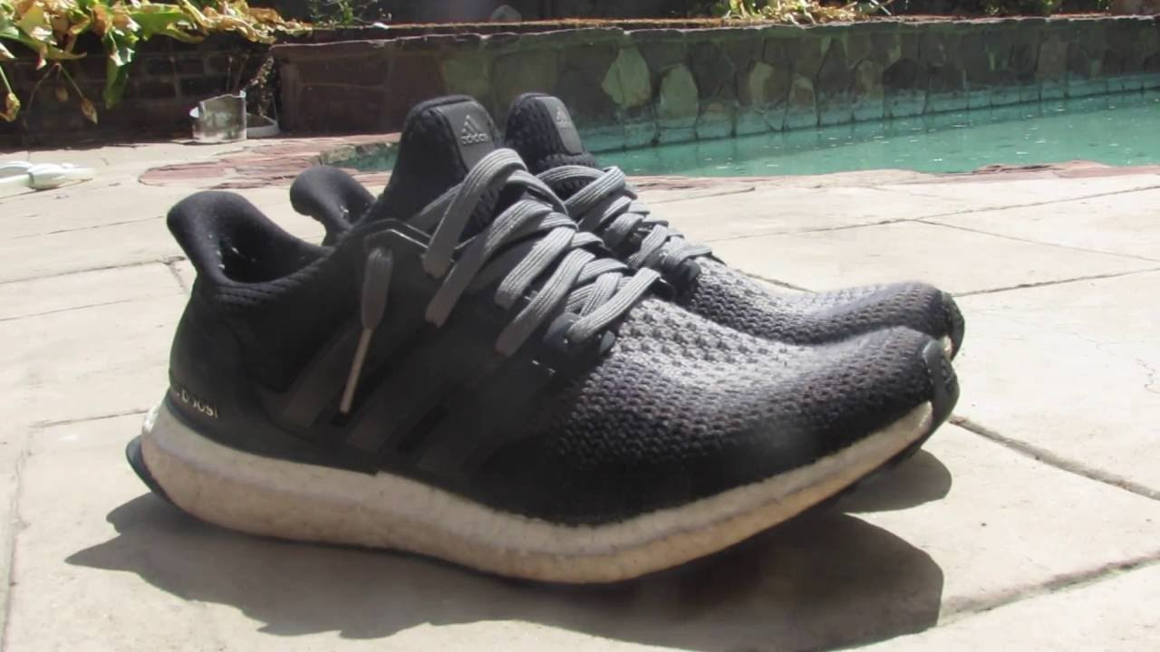half off 3bdec 8dd9e How to lace Adidas Ultra Boost 1.0s 2.0s - YouTube