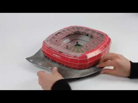 Puzzle 3D Stadion Bayern Munich Allianz Arena Nanostad Trefl
