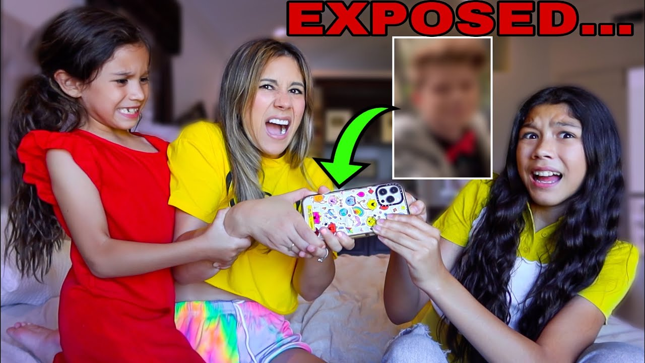 Download My MOM And SISTER REACT To My Camera Roll (CAUGHT) | Familia Diamond