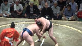 20140524 豪栄道vs勢 豪栄道上手く変って勢3敗目 大相撲夏場所14日目.