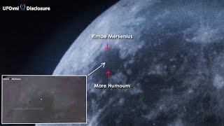 UFO Light Appeared For 54 Seconds On The Moon By Telescope