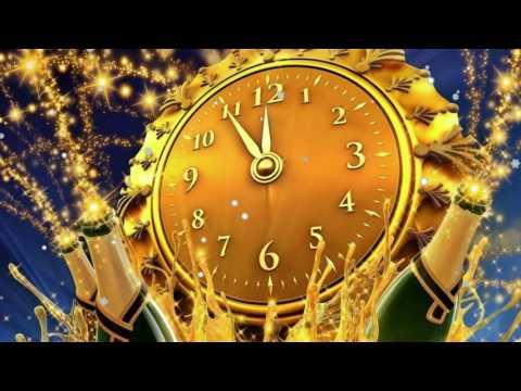 Футаж Новогодние открытки  С Новым годом!