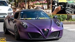 POGEA RACING ALFA ROMEO 4C CENTURION | ON BOARD TEST DRIVE, OVERVIEW and driving [2018 4K]
