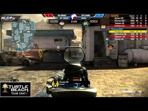 OpTic Gaming vs Evil Geniuses - Game 3 - Semi Final 2 - #MLGXGames