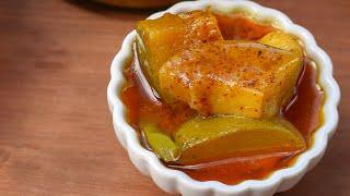 খোসা সহ আমের আঁচার - ১ | Amer Achar | Mango Pickles with Skin -1 | Bangladeshi Achar Recipe