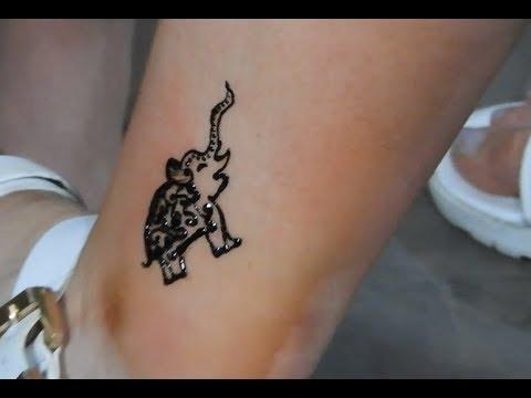 Mehndi Design For Feet Simple Elephant Henna Mehndi Design For Foot