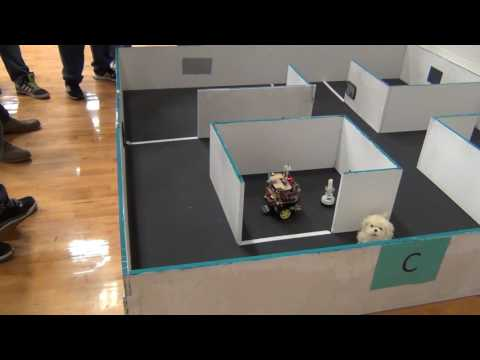 BU2B2 - Trinity College Firefighting Home Robot Content Competition Practice Trail 36