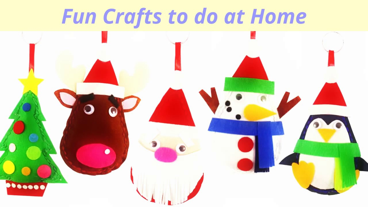 Fun Crafts To Do At Home