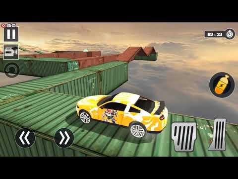 Impossible Car Stunt Game Pro 3D - Crazy Track Race - Android Gameplay FHD