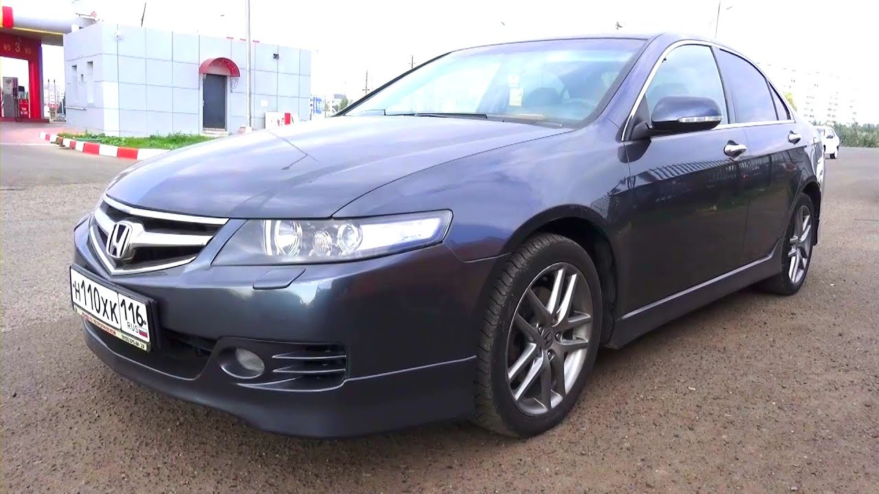 Captivating 2007 Honda Accord Type S. Start Up, Engine, And In Depth Tour.   YouTube