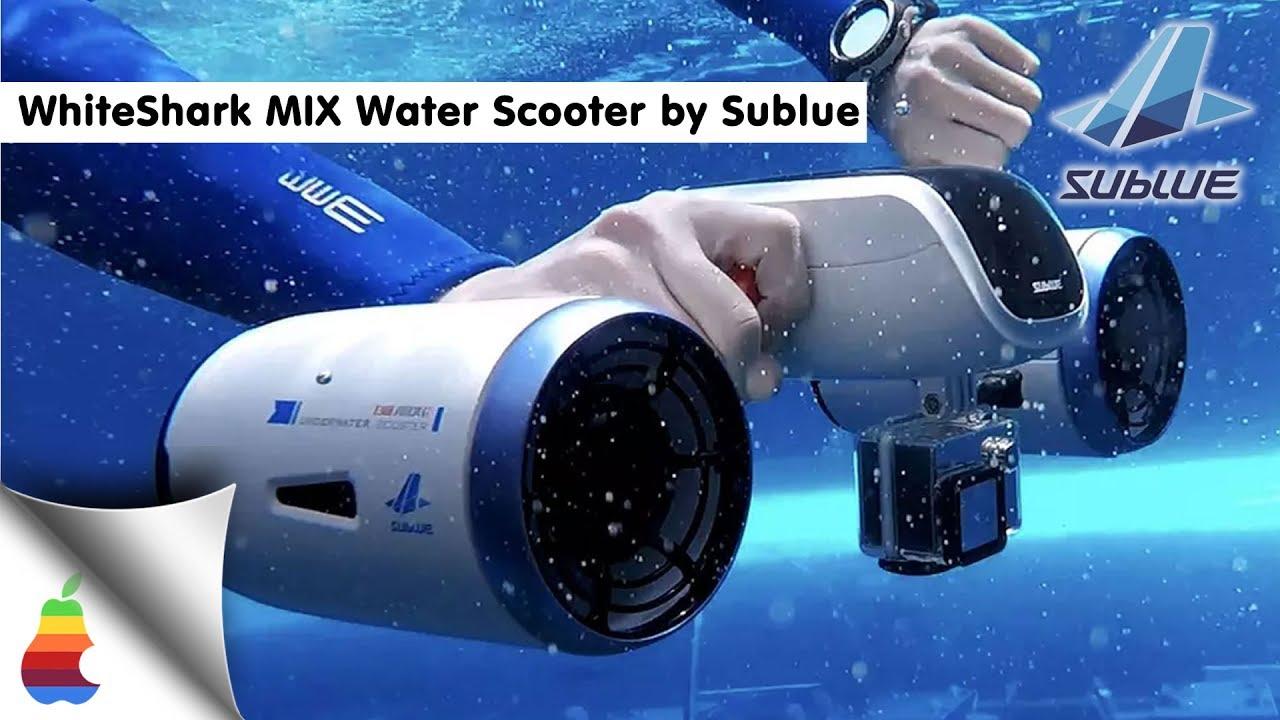 New WhiteShark MIX Mini Double Propeller Water Scooter