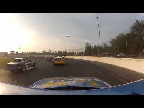 Jake Shipman On Board at Lake County Speedway: May 28th