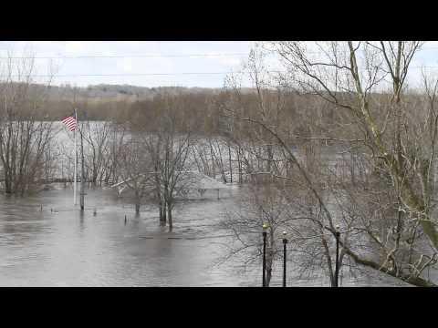 ILLINOIS MICHIGAN CANAL LOCK 16 LA SALLE, ILLINOIS FLOOD OF 2013