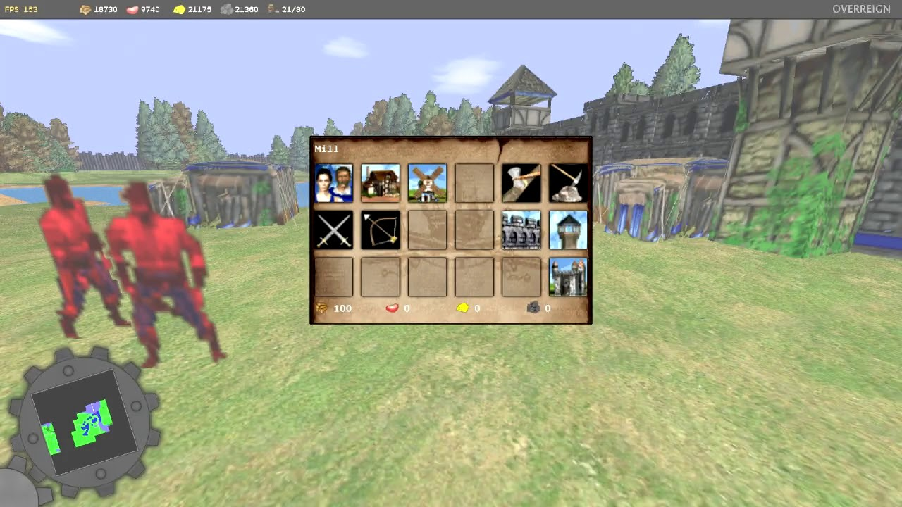 Age of Empires 2's Overreign mod lets you wololo in first
