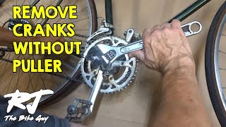 Remove Cranks Without A Crank Puller