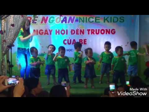 Ngày khai trường. Mầm non Be Ngoan Nice Kids. 3/9/2016