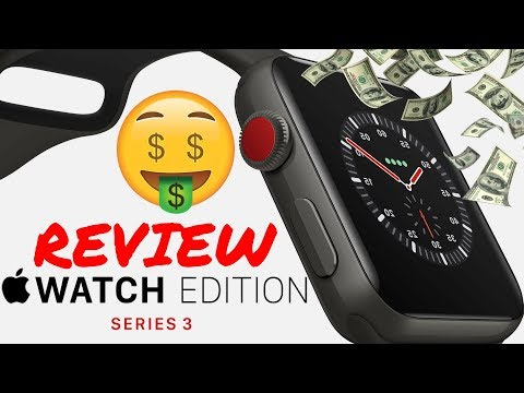 Apple Watch Edition Series 3 Unboxing & Review!