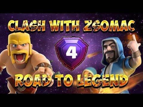 Mindjárt VÉGE?!🙄   Road To Legend #4   Clash Of Clans Magyarul