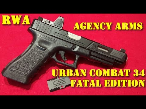 Airsoft - RWA/Agency Arms Urban Combat 34 Fatal Edition kit [French]