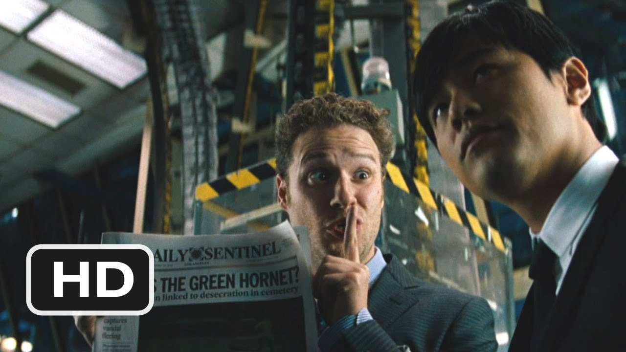 The Green Hornet #3 Movie CLIP - Who Is The Green Hornet? (2011) HD