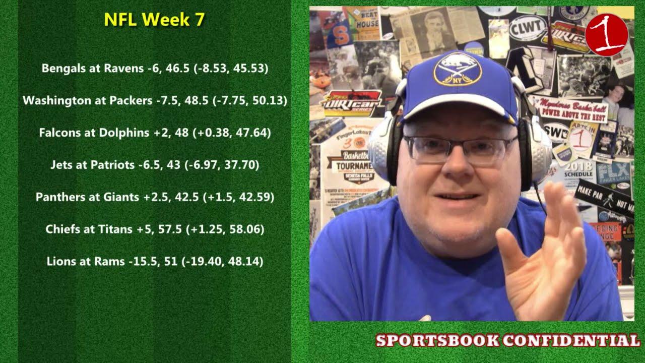 Big Betting Weekend: NFL Week 7, College Football Week 8, NHL & NASCAR .::. Sportsbook Confidential 10/22/21 (Podcast)