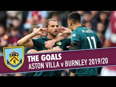 CLARETS DOUBLE COMEBACK | THE GOALS | Aston Villa v Burnley 2019/20