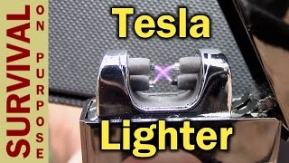 Tesla Lighter - Windproof, Waterproof and Just Plain Cool - Viewer Request