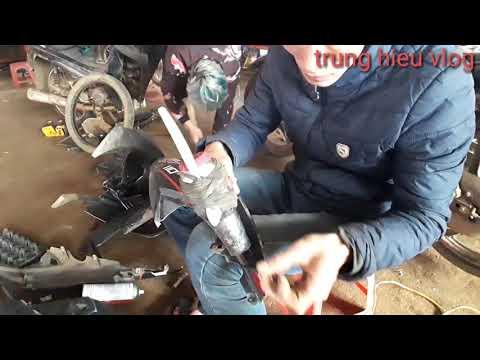 hướng dẫn bóc tem trùm rsx nhanh hiệu ủa, cách lột tem xe máy rsx