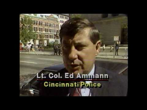 1990 Robert Mapplethorpe Trial News 5 Cincinnati Coverage
