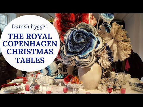 The Royal Copenhagen Christmas Tables And Hygge Lunch With A Friend!