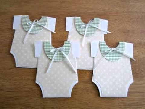 DIY Homemade baby shower invitation Decorating ideas YouTube