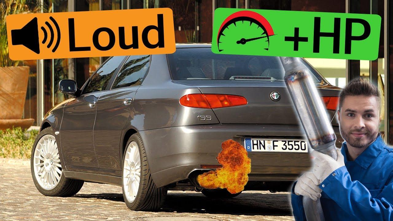 Alfa Romeo 166 Exhaust Sound 🔥 Acceleration,Mods,Upgrade,Review,Ragazzon,Wizard,Inoxcar,Ulter,CSC+