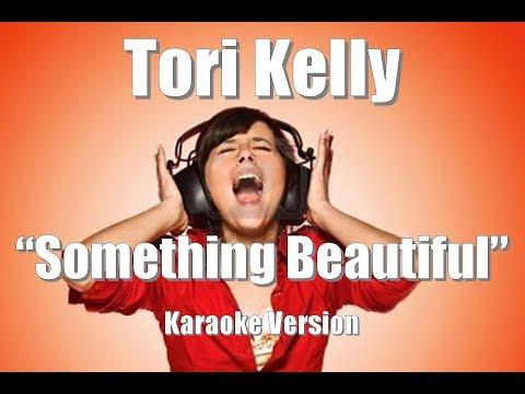 "Tori Kelly ""Something Beautiful"" BackDrop Christian Karaoke"