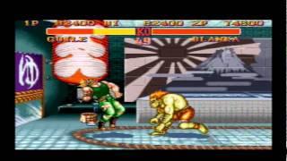 Street Fighter II Versus - Super Famicom
