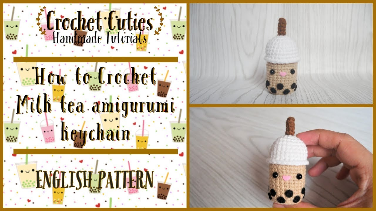 Milkshake PDF Pattern amigurumi crochet | Etsy | 720x1280