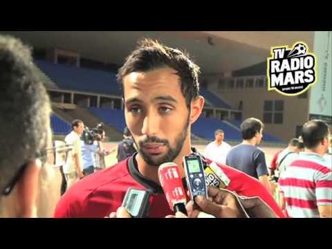 Réactions de l'equipe marocaine aprés la conférence de presse de Marrakech