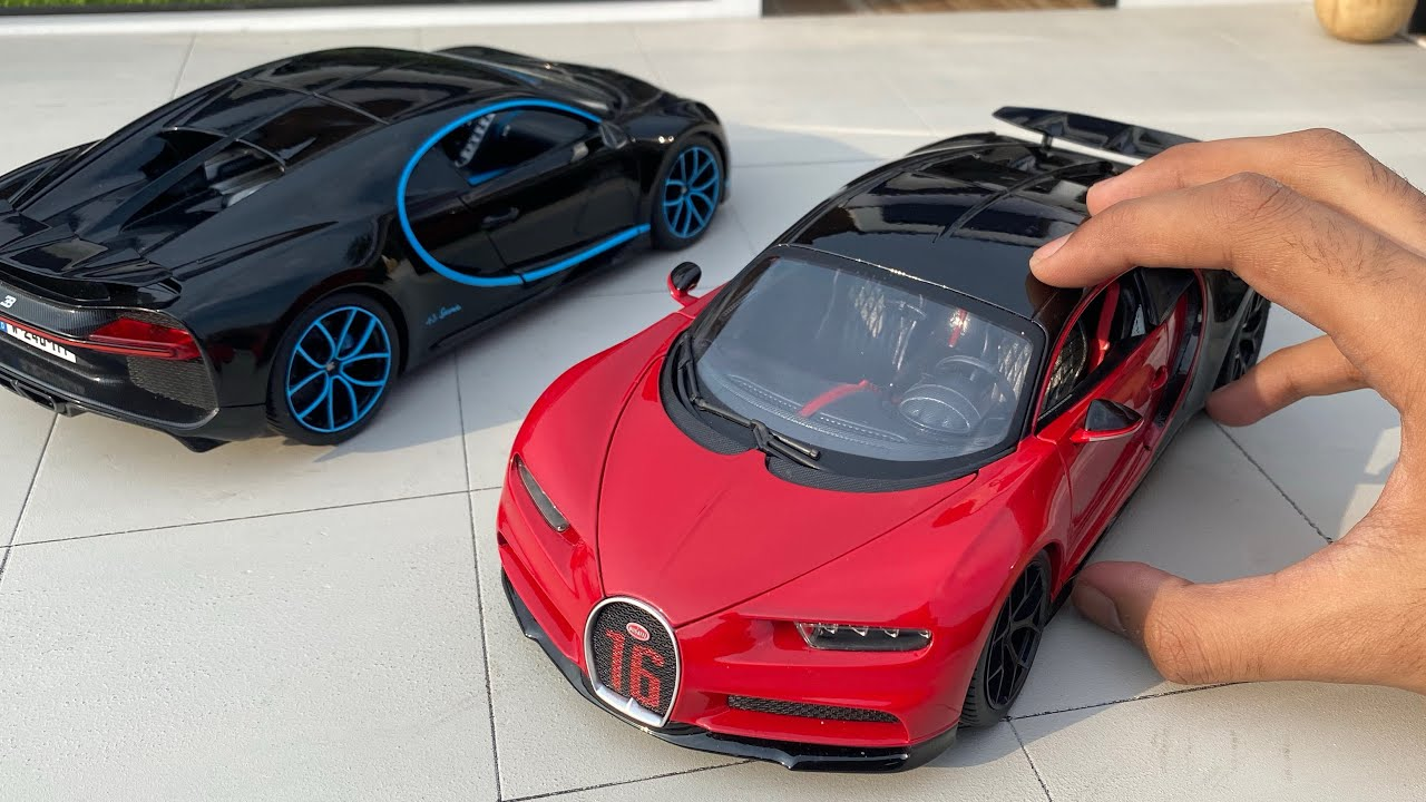 Unboxing a Mini Bugatti Chiron Diecast Model Car | Miniature Automobiles