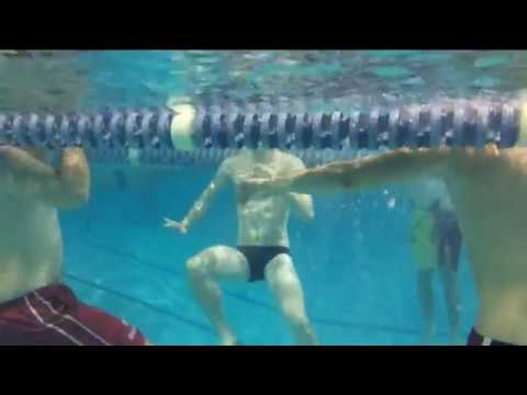 Tread water - Swim Workout